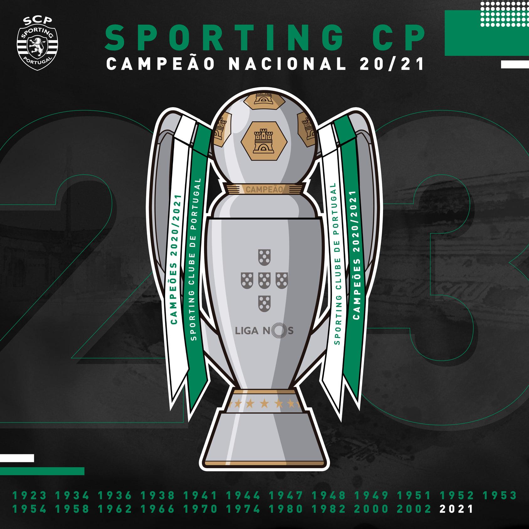 Sporting é o novo Campeão Nacional de Futebol